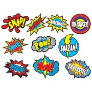 "Teacher Created Resources 6"" Superhero Saying, Assorted Colors (TCR5835)"