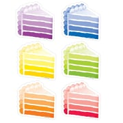 "Creative Teaching Press 3"" Cake Slices, Assorted Colors (CTP0827)"