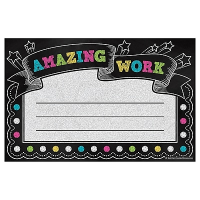 Teacher Created Resources Chalkboard Brights Awards Multi-Color 25 Awards Per Pack (TCR5836)