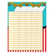 Teacher Created Resources Carnival Incentive Chart Multi-Colored (TCR7572)