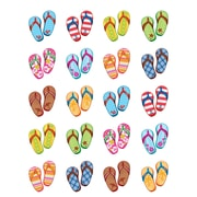 Teacher Created Resources Flip Flops Stickers Assorted Colors 120 Stickers Per Pack (TCR5649)