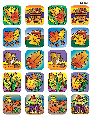 Teacher Created Resources Fall Stickers Assorted 120 Stickers Per Pack (TCR1806)
