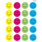 Teacher Created Resources Happy Faces Stickers, Assorted Colours (TCR1274)