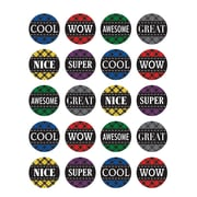 Teacher Created Resources Plaid Stickers Assorted Colors 120 Stickers Per Pack (TCR5697)
