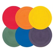 Champion Sports Vinyl Spot Markers, Assorted, 6/Set (CHSMSPSET)