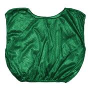 Champion Sports Adult Nylon Micro Mesh Scrimmage Vest. Green, Set of 12 (CHSSVMGN)