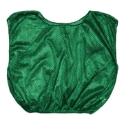Champion Sports Youth Nylon Micro Mesh Scrimmage Vest . Green, Set of 12 (CHSSVYGN)