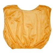 Champion Sports Youth Nylon Micro Mesh Scrimmage Vest . Gold, Set of 12 (CHSSVYGD)