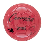Champion Sports Extreme Size 4 Red Soccer Ball  (CHSEX4RD)