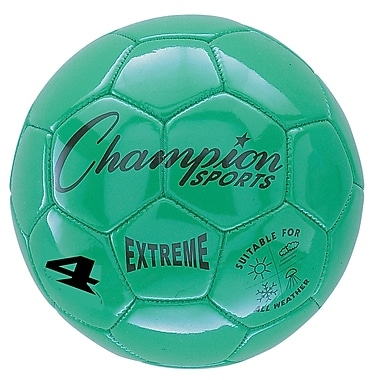 Champion Sports Extreme Size 4 Green Soccer Ball (CHSEX4GN)