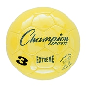 Champion Sports Extreme Size 3 Yellow Soccer Ball  (CHSEX3YL)