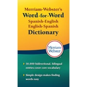 Merriam-Webster Spanish-English English-Spanish Dictionary Paperback (MW-2970)