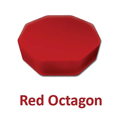 Senseez Vibrating Sensory Cushion, Originals Red Octagon (SSZ58735)