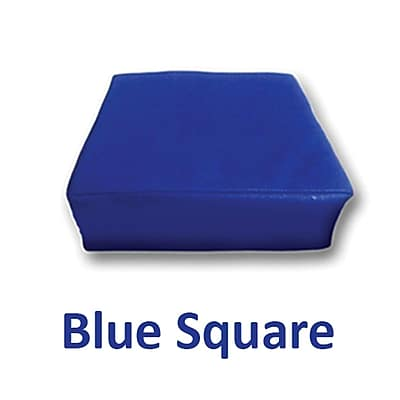 Senseez Blue Square Pillow Blue Vibrating, 1 Pillow (SSZ58698) 2323479