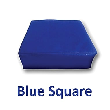Senseez Blue Square Pillow Blue Vibrating, 1 Pillow (SSZ58698)