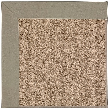 Capel Zoe Grassy Mountain Machine Tufted Buff/Brown Indoor/Outdoor Area Rug; Rectangle 2' x 3'