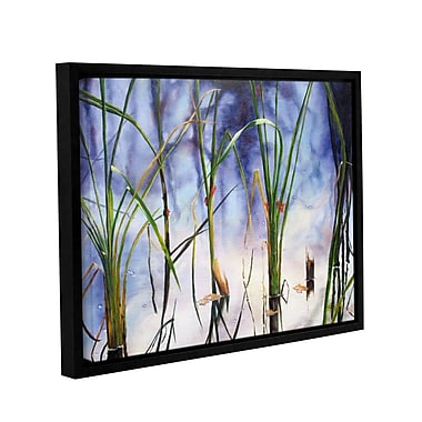ArtWall Mystic Pond by Marina Petro Framed Painting Print on Wrapped Canvas; 14'' H x 18'' W