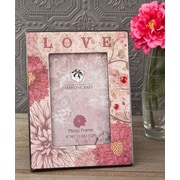 FashionCraft Love Floral Picture Frame