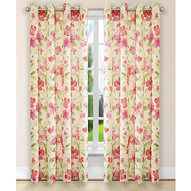 Ellis Curtain Arden Single Curtain Panel; 50'' W x 63'' L