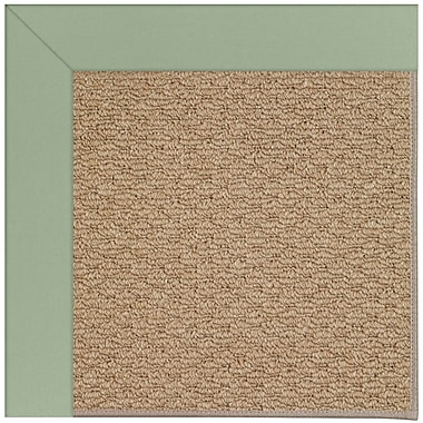 Capel Zoe Machine Tufted Light Jade/Brown Indoor/Outdoor Area Rug; Rectangle 8' x 10'