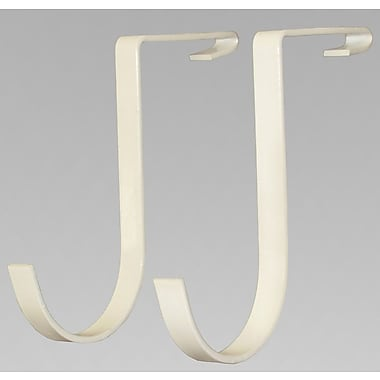 SafeRacks Deck Hook Wall Mounted Bike Rack; White