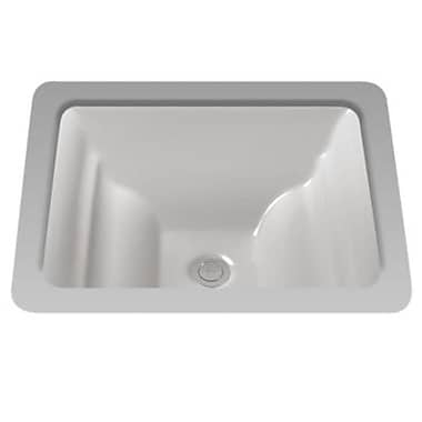 Toto Aimes Rectangular Undermount Bathroom Sink; Sedona Beige