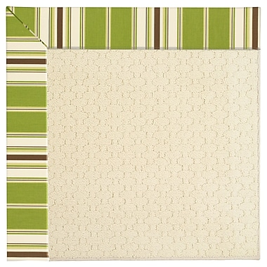 Capel Zoe Off White Indoor/Outdoor Area Rug; Square 10'