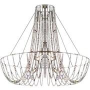 Evi Style Fall 6-Light Chandelier; Strass Swarovski