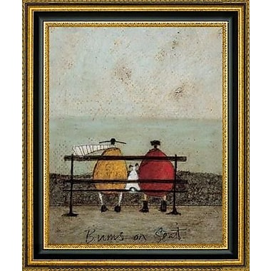 CanvasArtUSA 'Bums On Seat' by Sam Toft Framed Painting Print; 37.5'' H x 31.5'' W x 1.25'' D