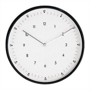 Peter Pepper 11.75'' Wall Clock; Black