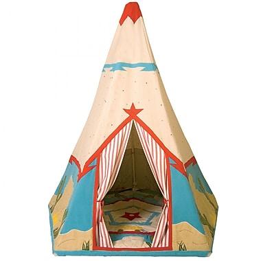 Win Green Cowboy Wigwam Play Tent