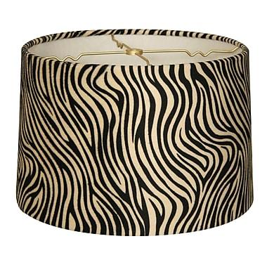 RoyalDesigns Timeless 10'' Linen Drum Lamp Shade