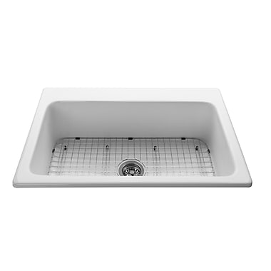 Reliance Whirlpools 27.75'' x 14.75'' Stainless Steel Sink Grid