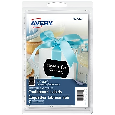 Avery® Chalkboard Labels, 2-1/2