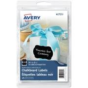 Avery® - 41720 Étiquettes tableau noir, diamètre de 2 ½ po, paq./10