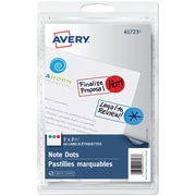 Avery® - Pastilles marquables, variées, paq./60
