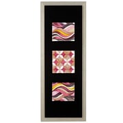 Majestic Mirror Long Rectangular Abstract Framed Painting Print