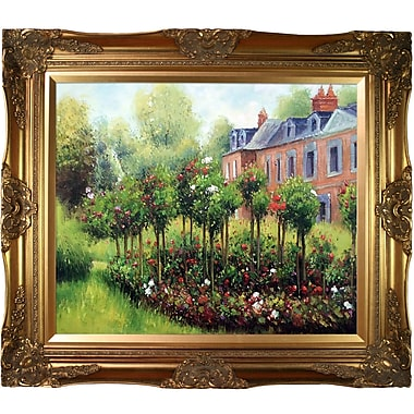 Wildon Home The Garden at Fontenay, 1874 by Pierre Auguste Renoir Framed Painting