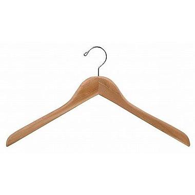 Only Hangers Inc. Cedar Top Hanger (Set of 50)