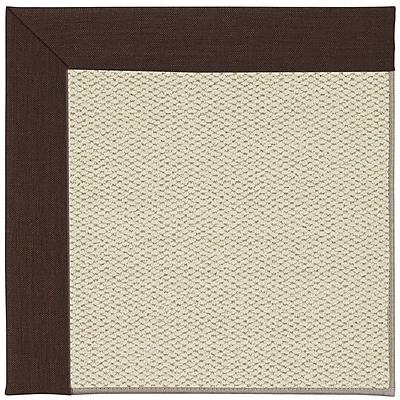 Capel Inspirit Linen Machine Tufted Cocoa/Beige Area Rug; Rectangle 12' x 15'