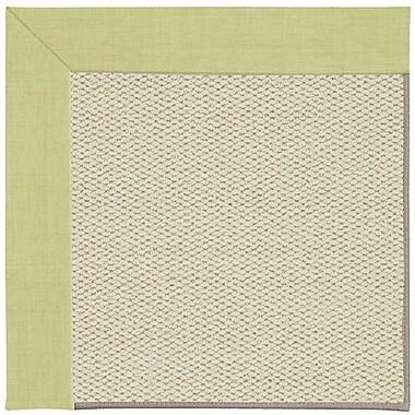 Capel Inspirit Linen Machine Tufted Light Green/Beige Area Rug; Rectangle 8' x 10'