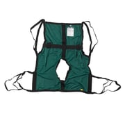 One Piece Sling with Positioning Strap, with Commode Cutout, Small