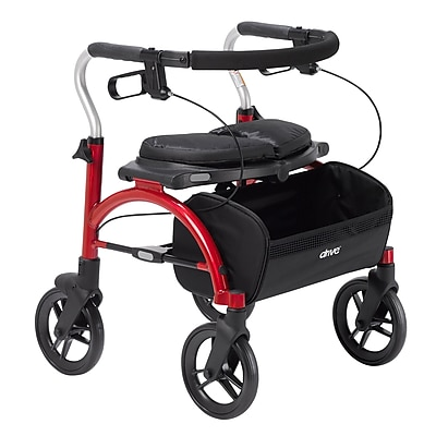 Arc Lite Rollator, Red