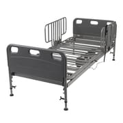 Competitor Semi Electric Hospital Bed with Half Rails