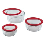 Pyrex Premium Glass Lids 6-Piece Storage Set