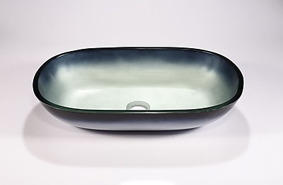Legion Furniture Specialty Glass Specialty Vessel Bathroom Sink