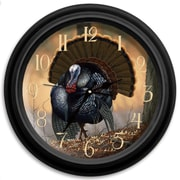 ReflectiveArt Classic Wildlife 16'' Autumn Strut Wall Clock