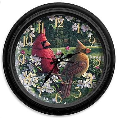 ReflectiveArt Classic Wildlife 16'' Country Wall Clock