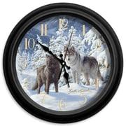 ReflectiveArt Classic Wildlife 16'' Mount Majesty Wall Clock