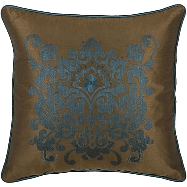 Wildon Home Deloris Throw Pillow; Brown